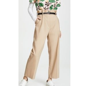3.1 PHILLIP LIM Wool Paper Bag Cropped Trouser